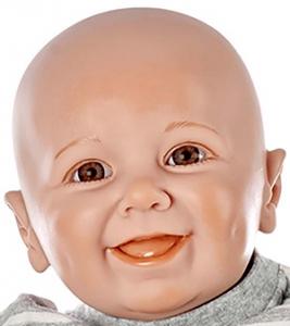 リアルな新生児人形